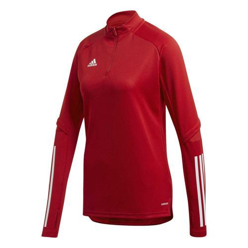 T-shirt de foot femme - adidas - Condivo 20 - Rouge