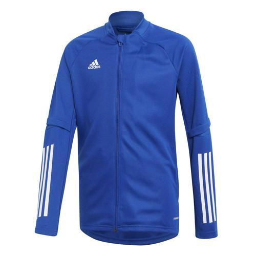 Veste d'entraînement de foot enfant - adidas - Condivo 20 Bleu