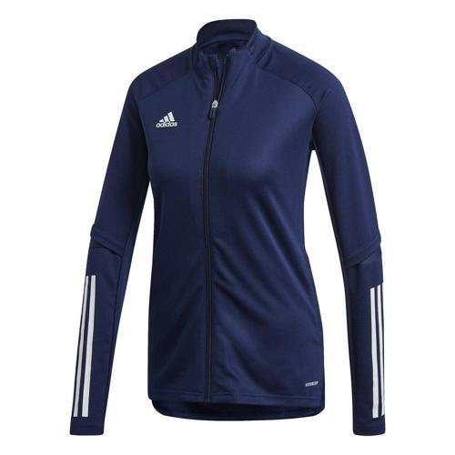 Veste d'entraînement de foot femme - adidas - Condivo 20 Bleu foncé