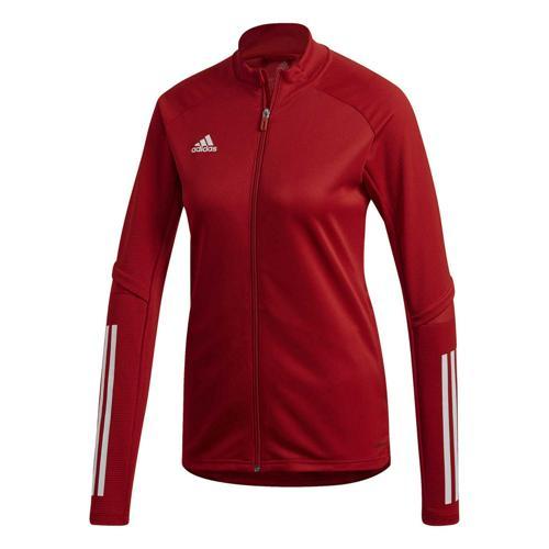 Veste d'entraînement de foot femme - adidas - Condivo 20 Rouge