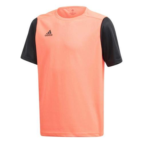 Maillot de foot enfant adidas - Estro 19 - Rouge fluo/Noir