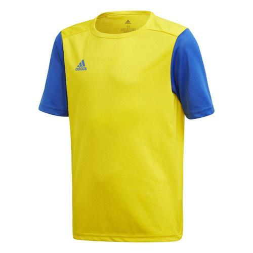 Maillot de foot enfant adidas - Estro 19 - Jaune/Bleu