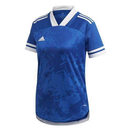 Maillot de foot femme - adidas - Condivo 20 - Bleu