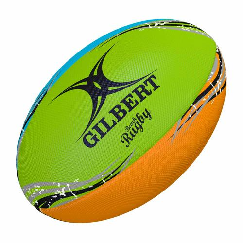 Ballon de beach rugby Gilbert - beach ball multi