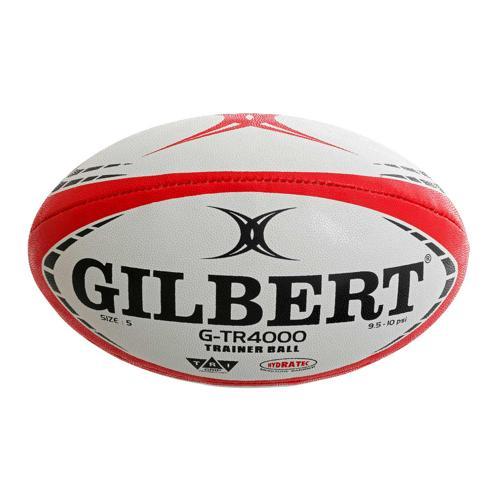 Ballon de rugby - Gilbert GTR 4000 rouge taille 5