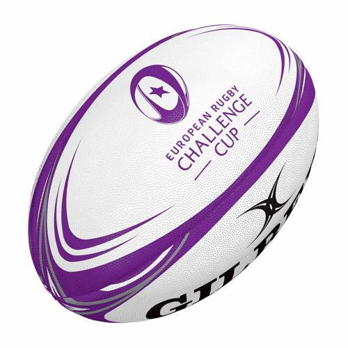 Ballon de rugby - Gilbert replica officiel challenge cup taille 5