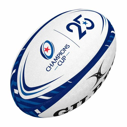 Ballon de rugby - Gilbert replica officiel champions cup taille 5
