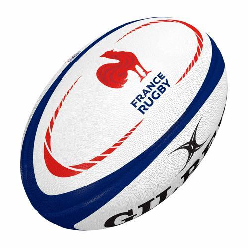 Ballon de rugby - Gilbert replica officiel France taille 5