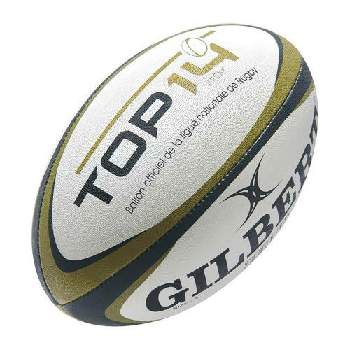 Ballon de rugby - Gilbert replica officiel top 14 taille 5