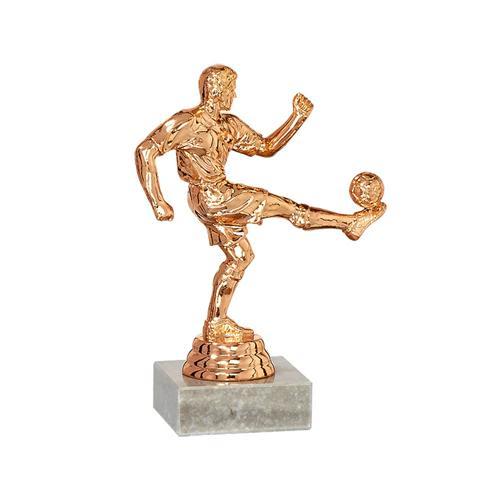Trophée foot bronze - joueur spécial foot - 14cm.