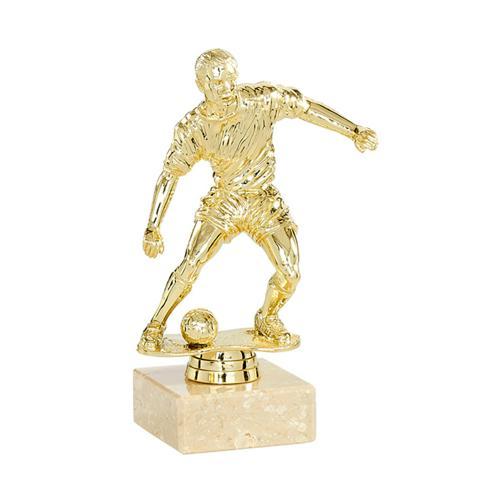 Trophée foot or - joueur spécial foot - 15cm.
