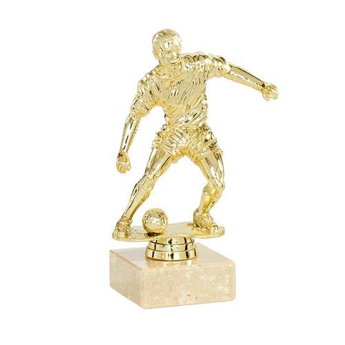 Trophée foot or - joueur spécial foot - 18cm.