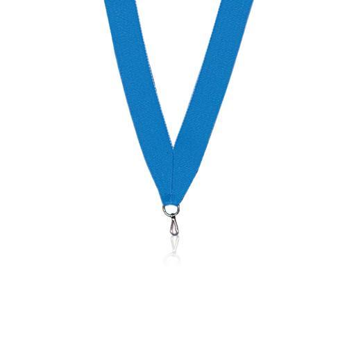 Ruban médaille bleu et ciel 22mm.
