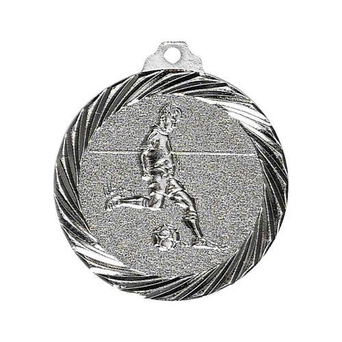 Médaille foot argent - 32mm.