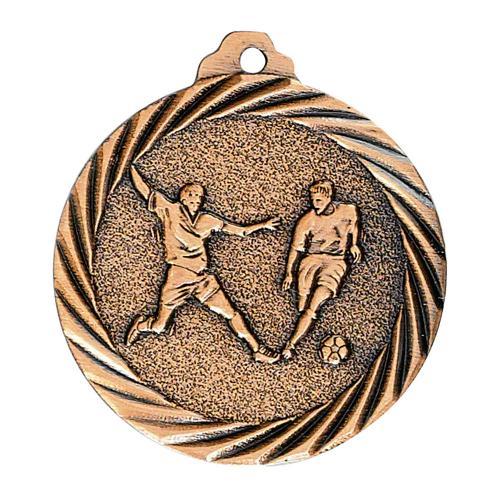 Médaille foot bronze - 32mm.
