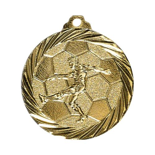 Médaille foot or - 32mm.