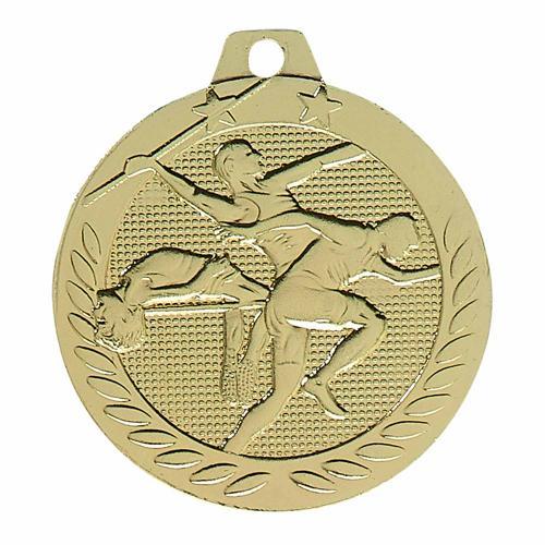 Médaille athlétisme or - 40mm.