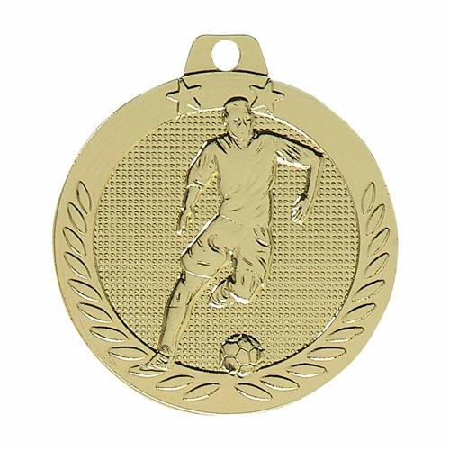 Médaille foot or - 40mm.