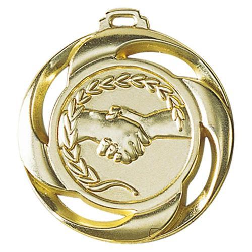 Médaille amitié or - 40mm.