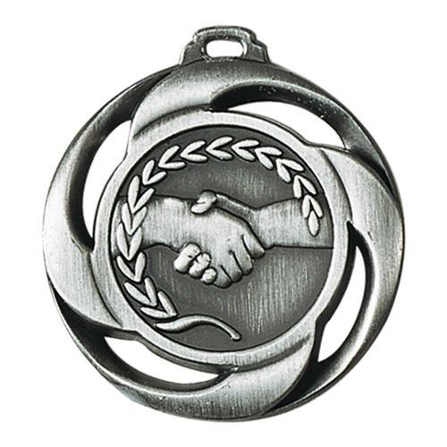 Médaille amitié argent - 40mm.