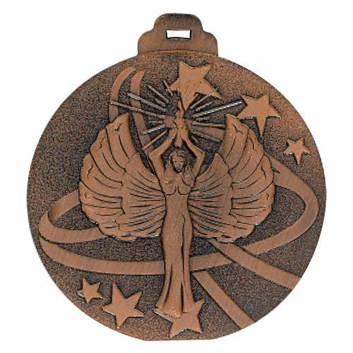 Médaille victoire bronze métal massif - 50mm.