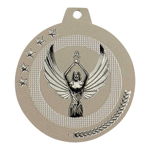 Médaille victoire sable et argent - highlight - 50mm.