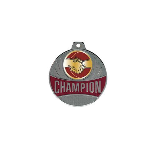 Médaille amitié argent champion - 50mm.