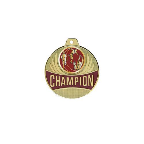Médaille athlétisme or champion - 50mm.