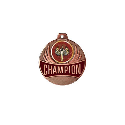 Médaille victoire bronze champion - 50mm.
