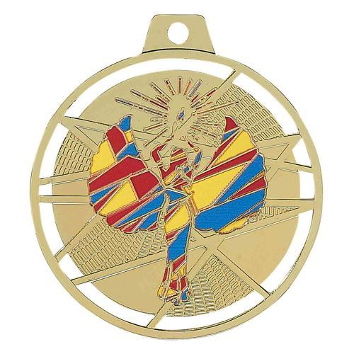 Médaille victoire or - émaillées - 70mm.