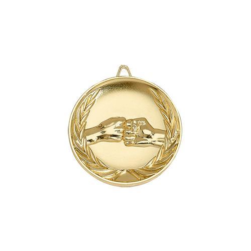 Médaille amitié or - 65mm.