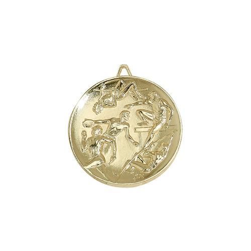Médaille athlétisme or - 65mm.