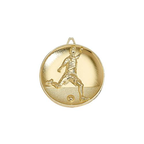 Médaille foot or - 65mm.
