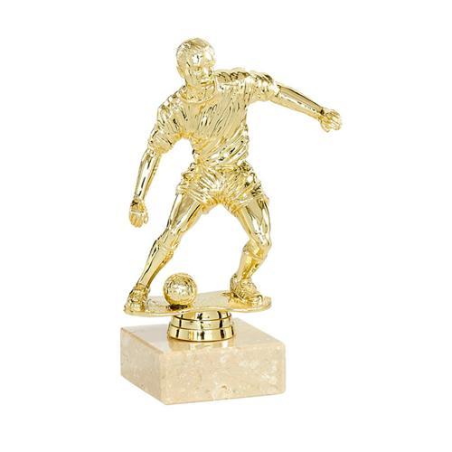 Trophée foot or - joueur spécial foot - 21cm.