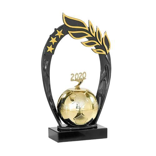 Trophée foot or 2020 - spécial foot - 25cm.