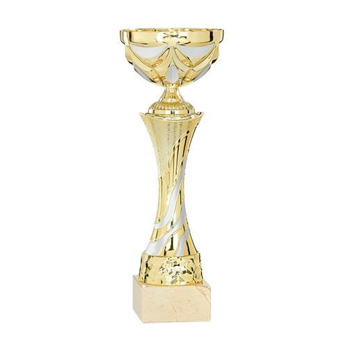 Coupe or et argent - économique - 27cm.