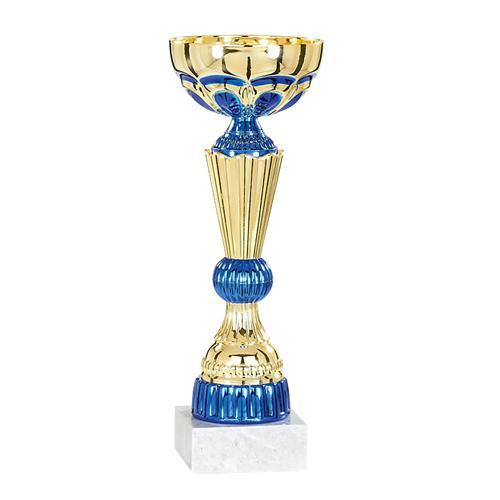 Coupe or et bleu - économique - 31cm.