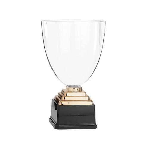 Coupe verre bronze - prestige - 37cm.