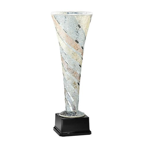Coupe verre blanc - luxe 47cm.