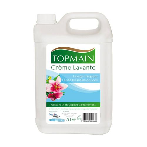 Crème lavante - Topmain florale 5L