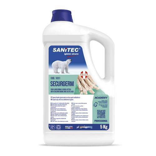 Savon antibactérien - Sanitec - securgerm 5kg