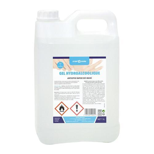Gel hydroalcoolique - Manka 5 litres