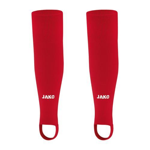 Chaussettes de foot sans pied - Jako - Glasgow 2.0 Rouge