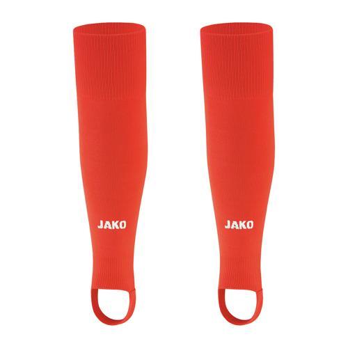 Chaussettes de foot sans pied - Jako - Glasgow 2.0 Rouge fluo