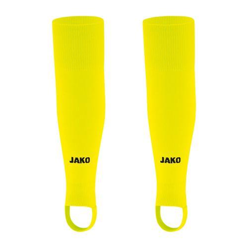 Chaussettes de foot sans pied - Jako - Glasgow 2.0 Jaune fluo