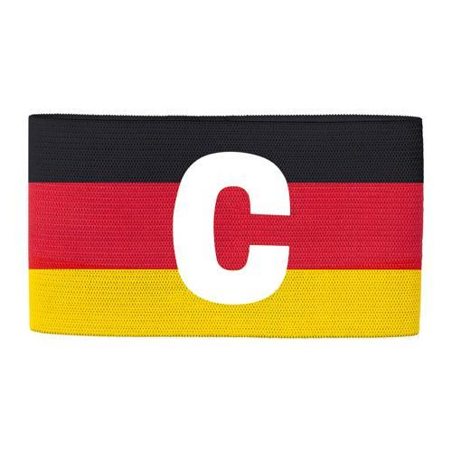 Brassard de foot capitaine Jako - Premium Noir/Rouge/Jaune