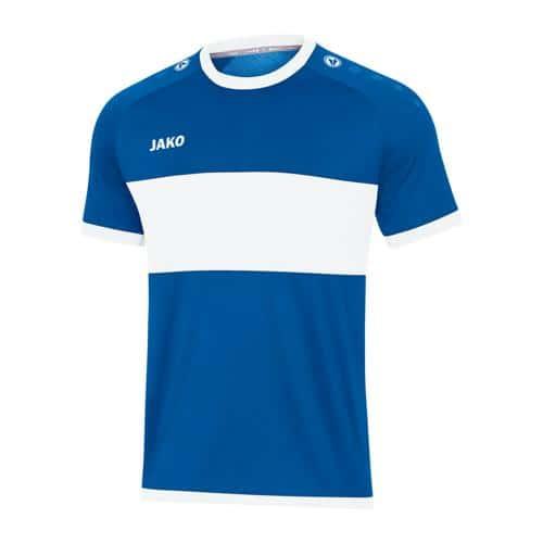 Maillot de foot manches courtes - Jako - Boca Bleu/Blanc