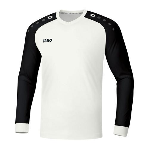 Maillot de foot manches longues - Jako - Champ 2.0 Blanc/Noir