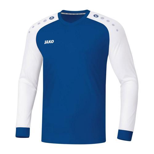 Maillot de foot manches longues - Jako - Champ 2.0 Bleu/Blanc