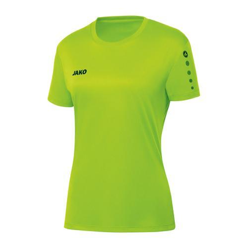 Maillot de foot manches courtes femme - Jako - Team Vert fluo